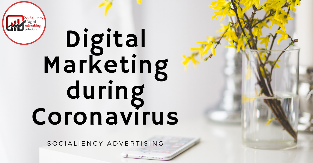 Digital Marketing during Coronavirus