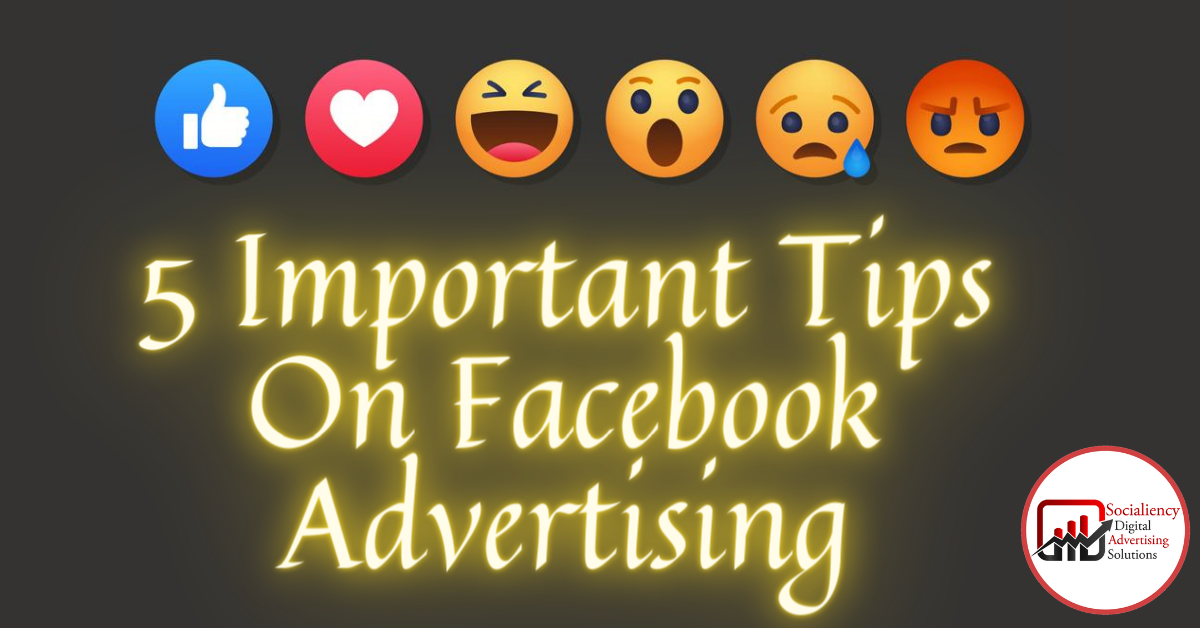 Facebook advertising socialiency advertising